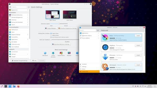 KDE Plasma 5.22 Beta lançado com melhorias de estabilidade e uso