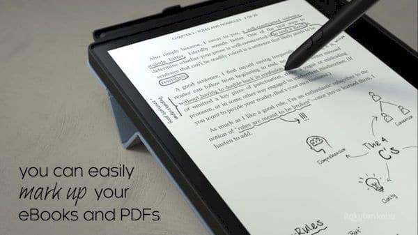 Kobo Elipsa, um tablet E Ink de 10.3 polegadas com suporte para caneta