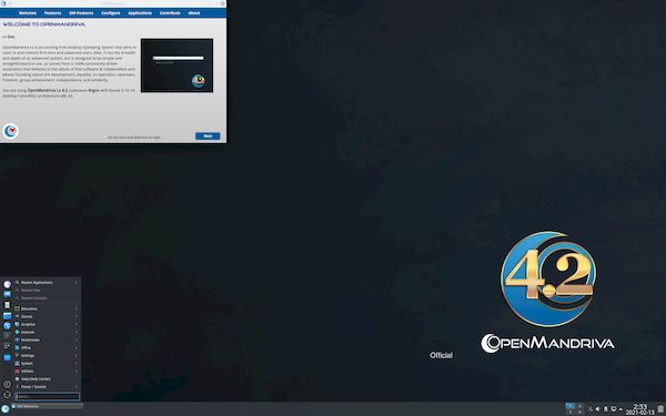 OpenMandriva Lx 4.3 RC lançado com LLVM 12 Toolchain e Kernel 5.12
