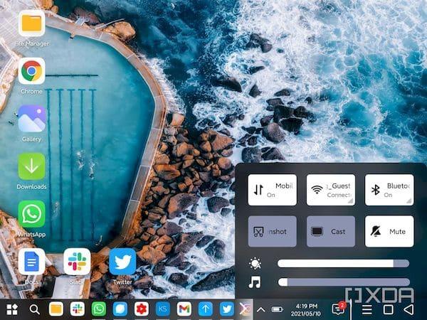 PC Mode da Xiaomi converte o Android em SO de desktop no Mi Mix Fold