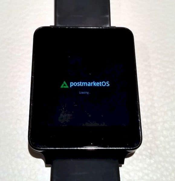 postmarketOS recebeu uma interface para smartwatch