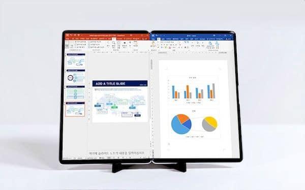 Samsung mostrou as próximas telas OLED dobráveis e roláveis