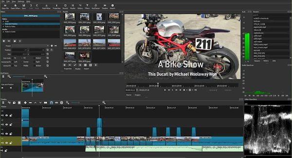 Shotcut 21.05 lançado com novos filtros, melhorias e muito mais