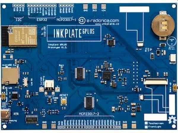 Tela Inkplate 6PLUS habilitada para WiFi E Ink será lançada em breve