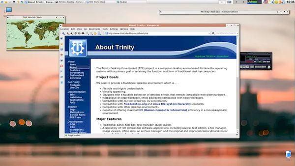Trinity R14.0.10 já foi lançada com novos recursos, melhorias e correções