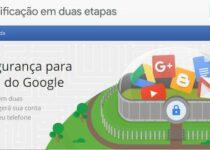 Verificação em duas etapas será obrigatória em contas do Google