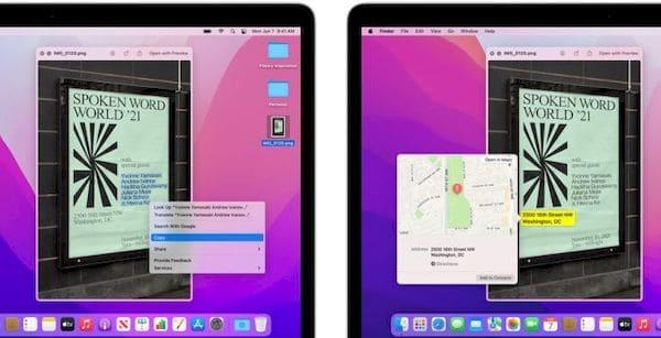 Alguns recursos do macOS Monterey só funcionam em Macs com chip M1