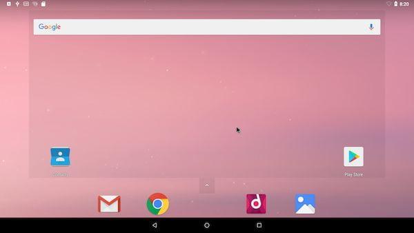 Android-x86 8.1-r6 lançado com kernel LTS 4.19.195 e o Mesa 19.3.5