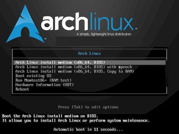 Arch Linux 2021.06.01 lançado com kernel 5.12, atualizações e patches de segurança