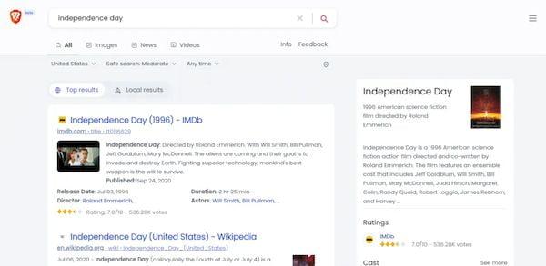 Brave Search Engine está aberto para testes beta! Conheça!
