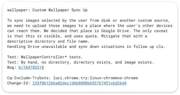 Chrome OS está recebendo um recurso de papel de parede do Windows