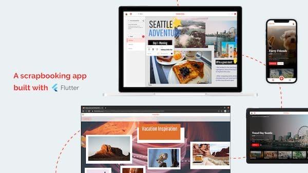 Como instalar o app de scrapbooking Flutter Folio no Linux via Snap