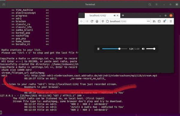Como instalar o Ghetto Radio Recorder no Linux via Snap
