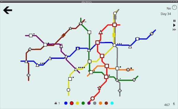 Como instalar o incrível jogo Big Metro no Linux via Snap