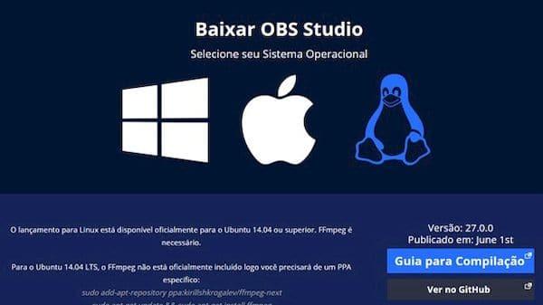 Como instalar o OBS Studio para fazer streaming de jogos via Linux