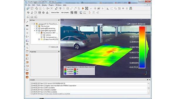 Como instalar o processador de pontos 3D CloudCompare no Linux via Flatpak