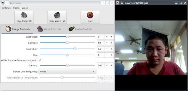 Como instalar o visualizador de webcam GTK+ UVC Viewer no Linux via Snap