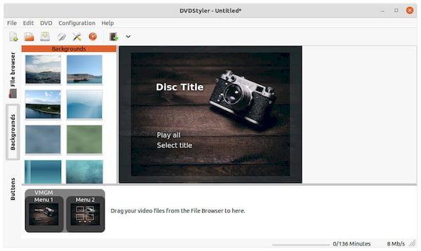 DVDStyler 3.2 lançado com novos recursos, correções e melhorias