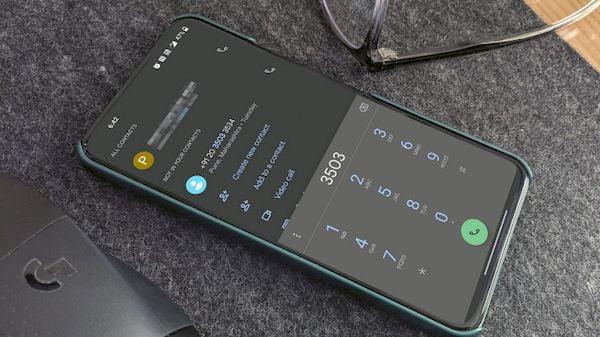 Google Phone está tornando mais fácil encontrar um número já discado