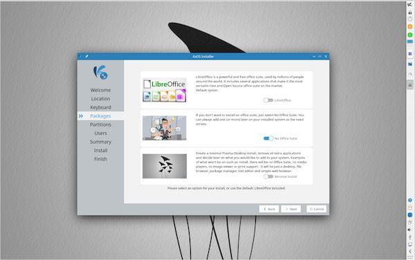 KaOS 2021.06 lançado com o KDE Plasma 5.22 e novos efeitos visuais