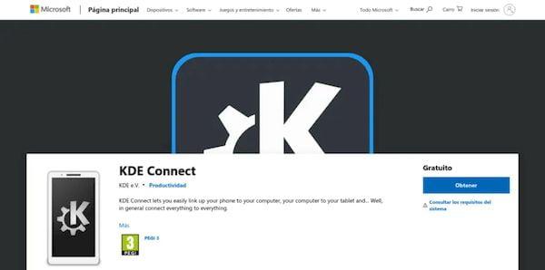 KDE Connect já está disponível para Windows na Microsoft Store (beta)