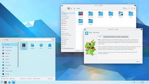KDE Plasma 5.22 lançado com várias melhorias e correções