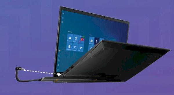 Kit de conversão da Lenovo leva carregamento sem fio para laptops