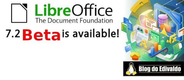 LibreOffice 7.2 Beta lançado com HUD pop-up de comando inicial e mais