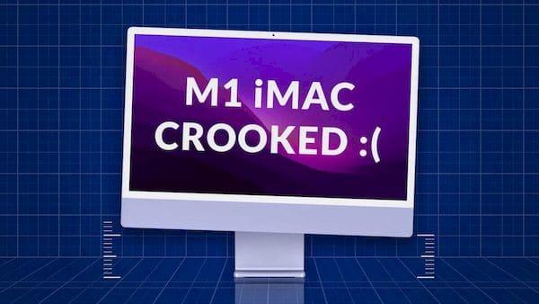 Novo Apple iMac M1 tem suportes com defeito? Entenda!