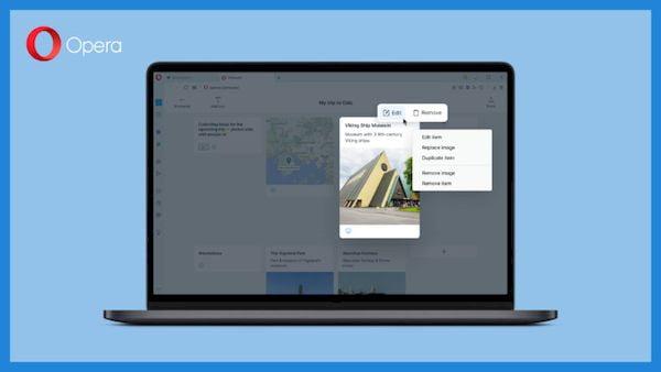 Opera 77.0.4054.146 lançado com novos recursos e melhorias