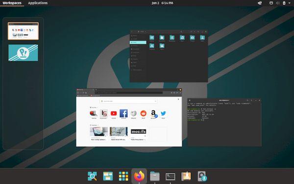 Pop!_OS 21.04 Beta lançado com o novo desktop COSMIC