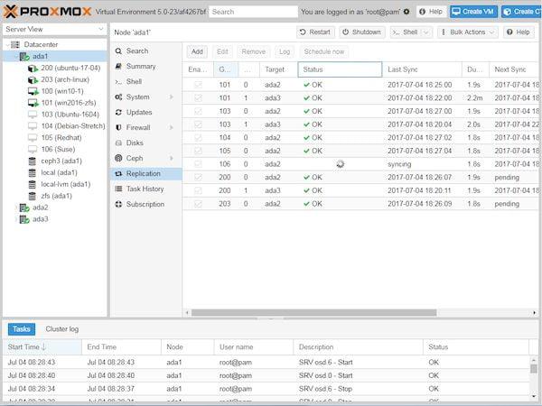 Proxmox 7.0 VE Beta 1 lançado com kernel 5.11, QEMU 6.0, LXC 4.0, e mais