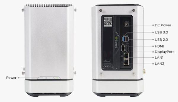 reServer, um servidor edge compacto com Intel Tiger Lake