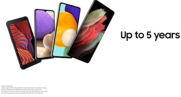 Samsung dará até 5 anos de atualizações a telefones Enterprise Edition