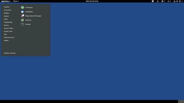 Tails 4.19 lançado com feedback de senha para sudo e mais