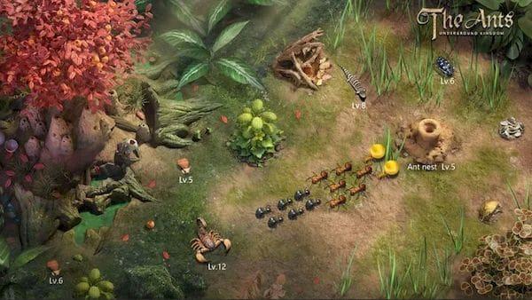 The Ants: Underground Kingdom, um jogo estratégia sobre uma colônia de formigas