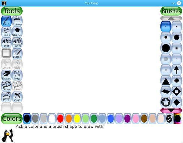 Tux Paint 0.9.26 lançado com novas ferramentas mágicas