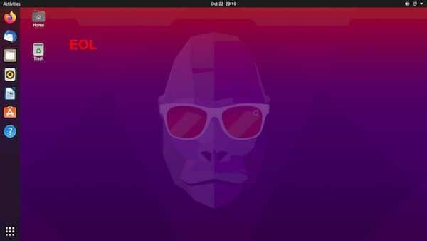 Ubuntu 20.10 chegará ao fim da vida no dia 22 de julho de 2021