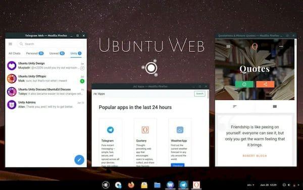 Ubuntu Web 20.04.2 lançado com uma nova loja, novo site e sem Anbox