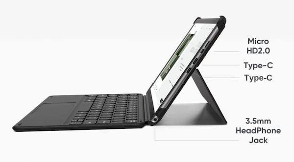 Chuwi Hi10 Go, um Tablet com processador Celeron N4500 Jasper Lake