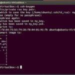 Como gerar um par de chaves SSH para poder autenticar remotamente