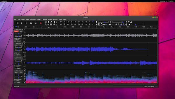 Como instalar editor de áudio Audacity no Linux via AppImage