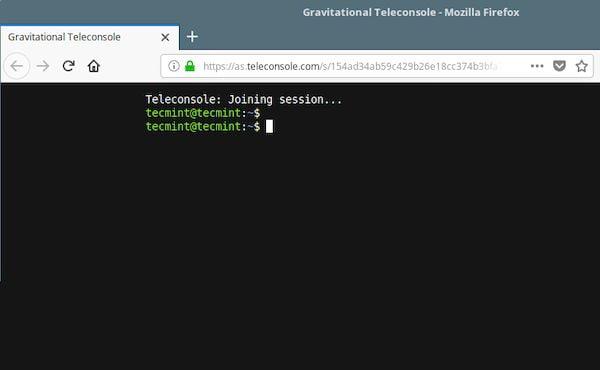 Como instalar o compartilhador de sessão Teleconsole no Linux via Snap