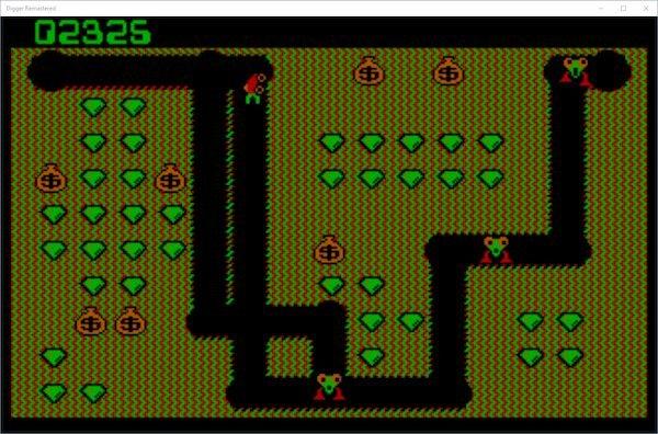 Como instalar o jogo Digger Classic no Linux via Snap