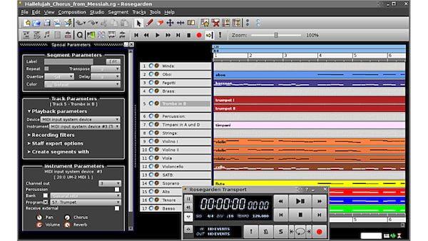 Como instalar o sequenciador de áudio Rosegarden no Linux via Flatpak