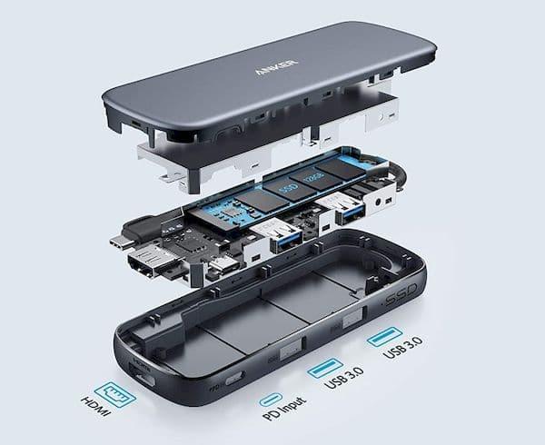 Conheça alguns Hubs USB-C que têm armazenamento SSD integrado