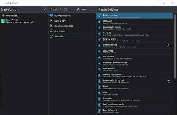 KDE Connect agora é compatível com Windows, Linux e macOS