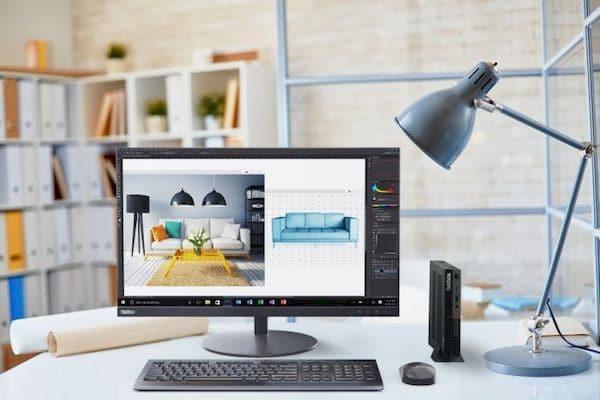 Lenovo ThinkStation P350 Tiny, uma workstation compacta com até Intel Core i9 e NVIDIA P1000