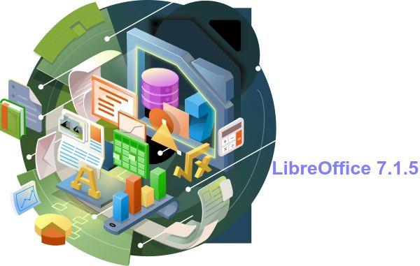 LibreOffice 7.1.5 lançado com 55 correções de bugs, e mais