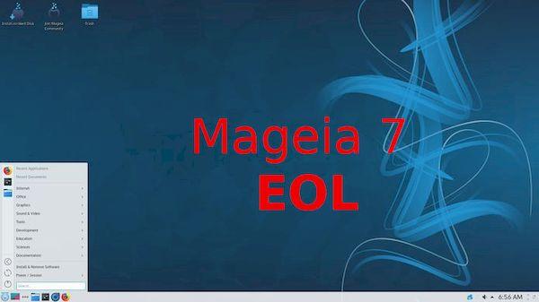Mageia 7 atingiu o fim de vida! É hora de atualizar para o Mageia 8